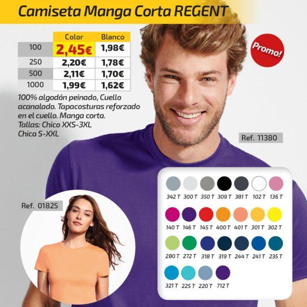 Camiseta Manga Corta REGENT