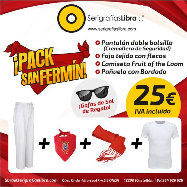 Pack San Fermín 2019