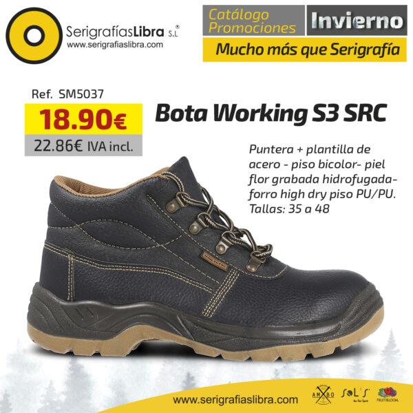 Bota Working S3 SRC
