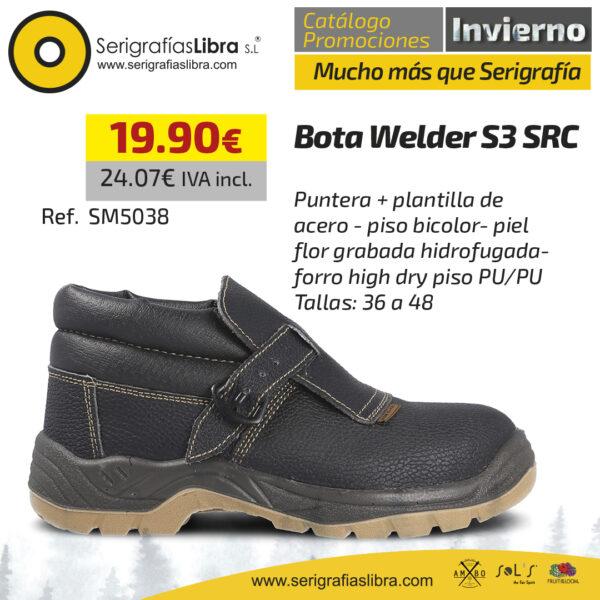 Bota Welder S3 SRC