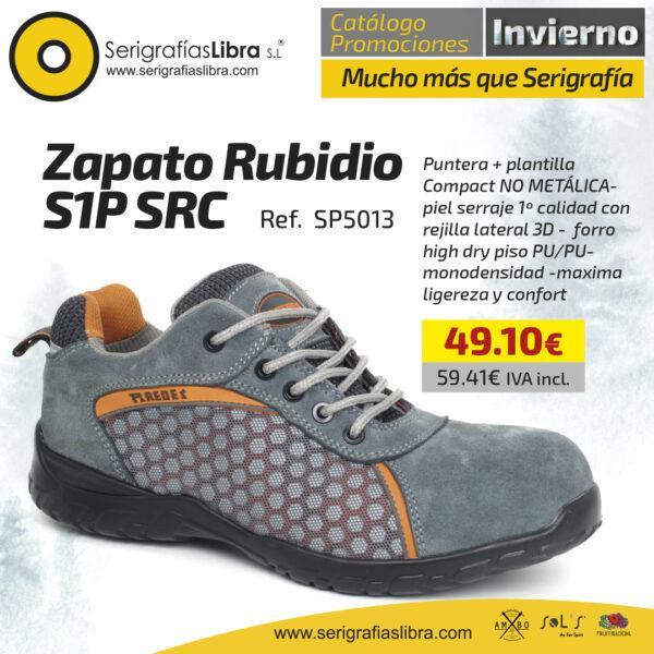 Zapato Rubidio S1P SRC
